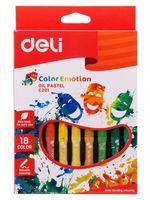 """Пастель масляная """"Color Emotion"""" (18 цветов)"""