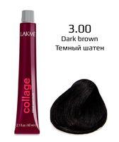 "Крем-краска для волос ""Collage Creme Hair Color"" (тон: 3/00, темный шатен)"