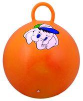 """Мяч-попрыгун """"Слонёнок"""" (45 см; с ручкой; оранжевый)"""