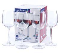 """Бокал для вина стеклянный """"Allegresse"""" (4 шт.; 420 мл)"""