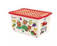 """Ящик для хранения игрушек """"Три кота. Обучайка"""" (арт. LA1427)"""