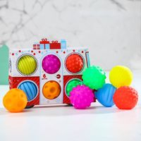 "Развивающая игрушка ""Машина Деда Мороза"" (6 шт.)"