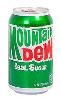 "Напиток газированный ""Mountain Dew. Real Sugar"" (330 мл)"