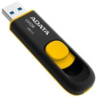 USB Flash Drive 32Gb A-Data UV128 USB 3.0 (Black/Yellow)