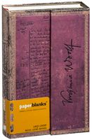 "Записная книжка Paperblanks ""Вирджиния Вульф. Своя комната"" в линейку (формат: 100*140 мм, мини)"
