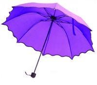 Зонт с проявляющимся рисунком (фиолетовый)