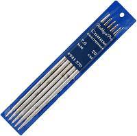 Спицы для вязания чулочные (металл; 7 мм; 5 шт.)