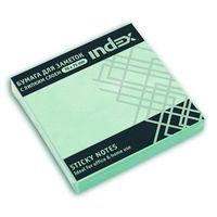 Бумага для заметок (светло-зеленая; 76х75 мм)