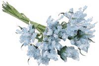 """Ветки для флористики """"Голубой букет"""" (арт. DKB031B)"""