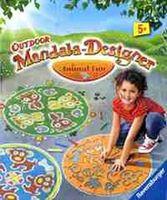 """Набор для рисования на асфальте """"Outdoor Mandala-Designer. Забавные животные"""""""