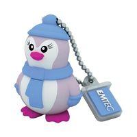 USB Flash Drive 8Gb Emtec M336 Lady Penguin ECMMD8GM336 USB 2.0