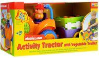 """Развивающая игрушка """"Трактор с овощами"""""""