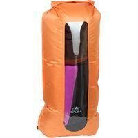 Гермомешок компрессионный с окном (35 литров; оранжевый)