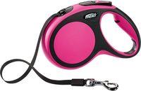 """Поводок-рулетка для собак """"New Comfort"""" (розовый, размер M, до 25 кг/5 м)"""