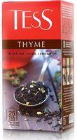 """Чай черный """"Tess. Thyme"""" (25 пакетиков)"""