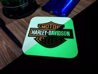 "Подставка под кружку ""Harley-Davidson"""