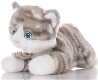 """Мягкая игрушка """"Котенок Серый"""" (22 см)"""