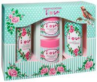 """Подарочный набор """"Rose"""" (молочко, гель, 2 крема)"""
