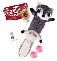 """Игрушка для собак """"Енот"""" с двумя сменными пищалками (43 см)"""