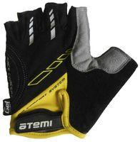 Перчатки велосипедные AGC-04 (M; жёлтые)
