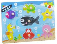 """Рамка-вкладыш """"Подводный мир"""""""