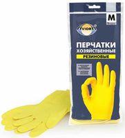 Перчатки хозяйственные резиновые (M; 1 пара)