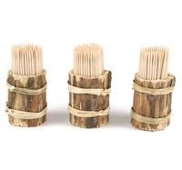 Набор зубочисток деревянных (3х150 шт.; арт. GL081)