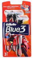 """Станок для бритья одноразовый """"Blue 3 Red"""" (3 шт)"""