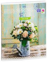 """Тетрадь полуобщая в клетку """"Spring in the Air"""" (48 листов; в ассортименте)"""