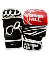 Перчатки MMA-0055R (S; красно-чёрно-белые)