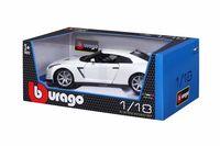 """Модель машины """"Bburago. Nissan GT-R"""" (масштаб: 1/18)"""