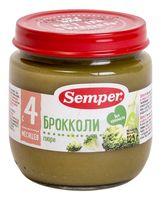"""Детское пюре Semper """"Брокколи"""" (125 г)"""