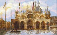"""Вышивка крестом """"Венеция. Площадь Сан-Марко"""""""