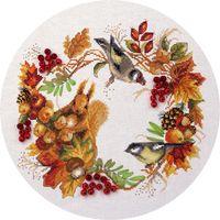 """Набор для вышивания """"Осенний венок"""""""