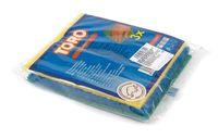 Набор губок для мытья посуды с абразивным покрытием (3 шт.; 15х15 см)