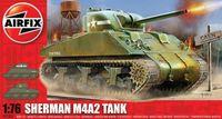 """Cредний танк """"Sherman M4A2"""" (масштаб: 1/76)"""
