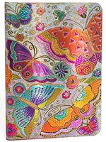 """Ежедневник Paperblanks """"Бабочки"""" на 2017 год (формат: 120x170 мм, миди)"""
