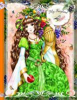 """Блокнот """"My Fairyland (оранжевый)"""" (А5)"""