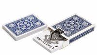 """Карты для покера """"Tally-Ho Fan"""" (синяя рубашка)"""