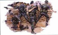 """Набор миниатюр """"Green Berets"""" (масштаб: 1/35)"""