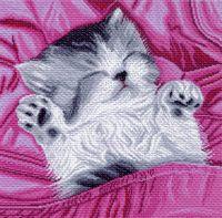 """Канва с нанесенным рисунком """"Сладкий сон"""""""