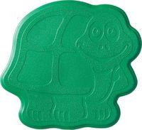 """Коврик для ванной резиновый """"Черепашка"""" (6 шт.; 13х11 см; зеленый)"""