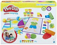 """Набор для лепки """"Play-Doh. Текстуры и инструменты"""""""