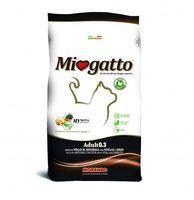 "Сухой корм для кошек ""Miogatto"" (400 г; телятина и ячмень)"