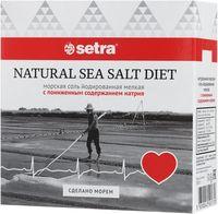 """Соль морская """"Setra. С пониженным содержанием натрия"""" (500 г)"""
