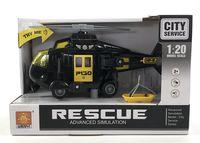 Вертолёт инерционный (со световыми и звуковыми эффектами; арт. WY760A)