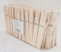 Набор прищепок деревянных (36 шт.; 100 мм)