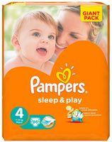 """Подгузники """"Pampers Sleep&Play Chamomile Maxi"""" (7-14 кг, 86 шт, арт. 0001010714)"""