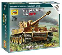"Немецкий тяжелый танк ""Тигр"" (масштаб: 1/100)"