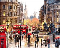 "Картина по номерам ""Яркие краски Лондона"" (400х500 мм)"